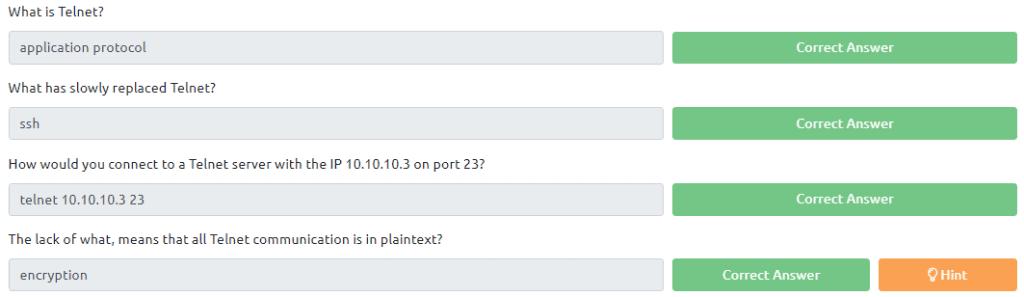 Answer task 5