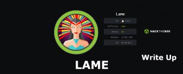 Lame hackthebox write up