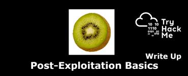 Post-Exploitation Basics tryhackme