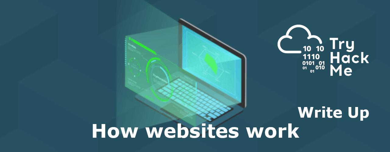 How websites work on tryhackme
