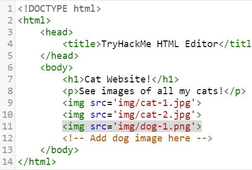 How websites work tryhackme